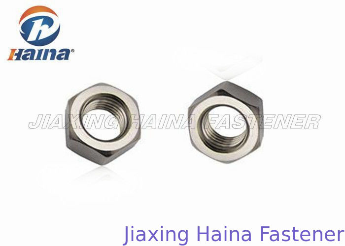 304 / 316 Stainless Steel Hex Nut Zinc Plated M8 - 56 Hot Forging For Automotive