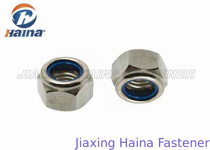 Hexagon Head Stainless Steel Nuts A2 A4 M5 M8 Customized For Electronic Machines